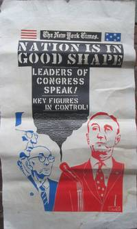 image of The Nation is in Good Shape. Slate Print Poster