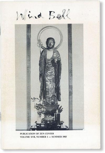 : Zen Center, 1983. First Edition. Octavo (23cm.); pictorial staplebound self-wrappers; 47pp.; photo...