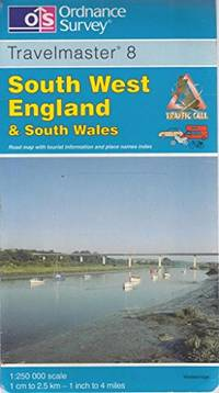 image of South West England and South Wales (OS Travel Map - Road Map)