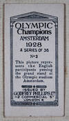 View Image 3 of 4 for Olympic Champions, Amsterdam 1928 (complete set of 36 cigarette cards) Inventory #45063