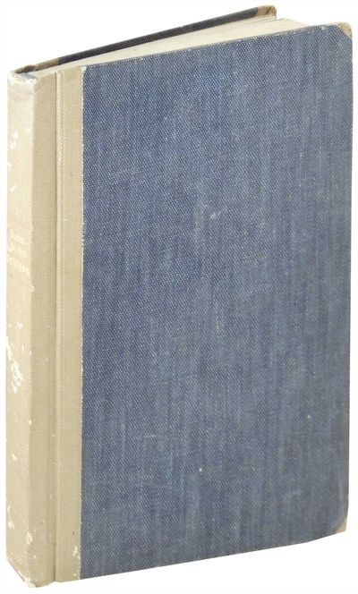 1947. Hardcover. Very Good. Hardcover. Tan cloth backed blue cloth boards with gilt title