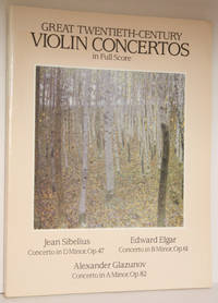 Great twentieth-century violin concertos; [full score]