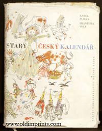Stary Cesky Kalendar by CZECH ) Plicka, Karel and Frantisek Volf. Maresova, Milada (illus) -  1959.