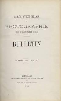 BULLETIN:  ASSOCIATION BELGE DE PHOTOGRAPHIE SOUS LE PROTECTORAT DU ROI