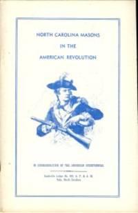 North Carolina Masons In The American Revolution