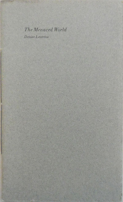 Concord: William B. Ewert, 1985. First edition. Paperback. Fine. 8vo. Slender poetry chapbook by Lev...