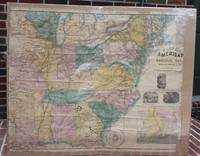 Large 1861 Civil War Railroad Map Of The Seat Of War; Lloyd's American  Railroad Map Showing The Whole Seat Of War, [LBC]