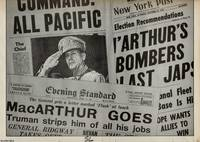 Eisenhower and MacArthur. Daily Express, March 18, 1942. The War Papers. Issue 70. A reprint of an entire newspaper from the Second World War era by The War Papers - 1978 - from Cosmo Books (SKU: 307598)