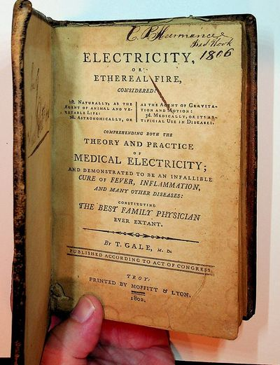 Troy, : Moffitt & Lyon, 1802. First Edition. Boards. Good. First Edition. 285, pages. 12mo. 4 x 6 1/...