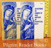 image of Devotions in Honor of Our Mother of Perpetual Help.