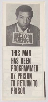 image of This man has been programmed by prison to return to prison