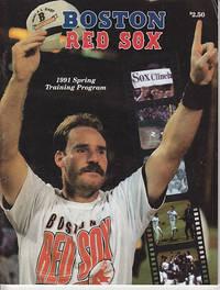 image of Boston Red Sox 1991 Spring Training Program