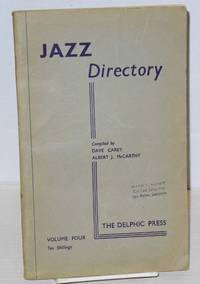image of The directory; of recorded jazz and swing music (including gospel and blues records); volume four (G H I)