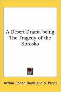image of A Desert Drama being the Tragedy of the Korosko