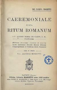 CAEREMONALE IUXTA RITUM ROMANUM