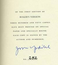 image of Roger's Version, Signed by the author