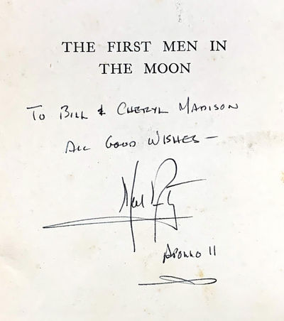 NEIL ARMSTRONG�S SIGNATURE - THE...
