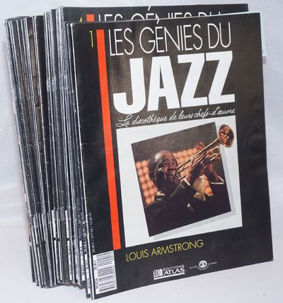 Paris: Editions Atlas, 1990. Magazine. Minimally 12p. each (e.g., the one featuring Ella Fitzgerald ...