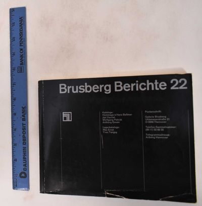 Hannover, Germany: Galerie Brusberg, 1976. Softcover. Good. (edge-wear, scuffs & scratches to covers...