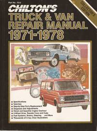 image of Chilton's Truck & Van Repair Manual, 1971-1978-Collector's Edition