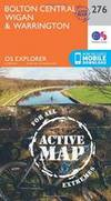 Bolton, Wigan and Warrington (OS Explorer Active Map)