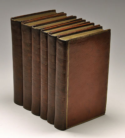 Paris and Mecca, 1799. Hardcover. Very good. Large 8vo. Together 6 volumes (collations below). Conte...