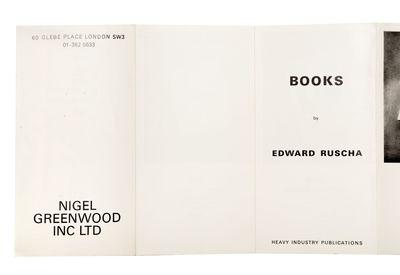 Books by Edward Ruscha [at Nigel...