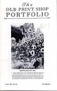 The Old Print Shop Portfolio Volume LXVII Number 3