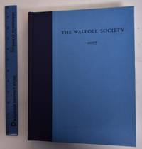 69th Annual Volume of the Walpole Society, 2007