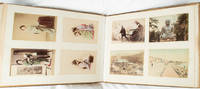 Fifty-three Hand Coloured Japanese Photographs in Lacquer Album]*.
