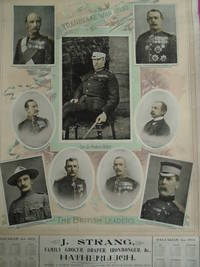 TRANSVAAL WAR POSTER & CALENDAR DEPICTING THE BRITISH LEADERS [BOER WAR]