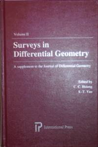 image of Surveys in Differential Geometry Volume II