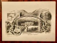 image of CRAWFORD HOUSE MENU, WHITE MTS. N.H. SEPTEMBER 27, 1891. [NEW HAMPSHIRE RESORT]