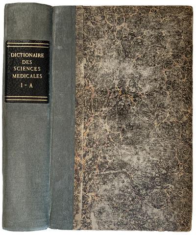Dictionnaire des sciences medicales,...