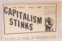 Capitalism stinks. Vol. 1 no. 11 (June 1, 1969)