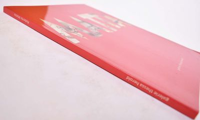 Paris: Galerie Thessa Herold, 2015. Softcover. As New. Red wraps with illustrated lettering on front...