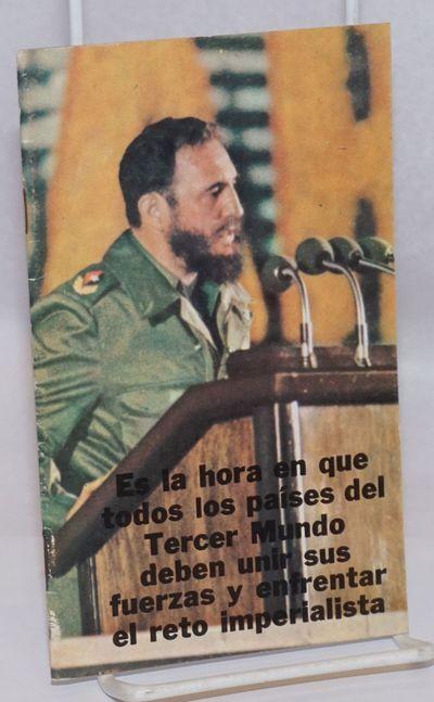 Havana: Editorial de Ciencias Sociales, 1974. 30p., very good staplebound booklet. (