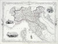 Northern Italy, Tallis, ca.1851