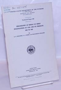 image of Bibliography of United States Bureau of Mines Investigations on Coal and its Products, 1940 to 1945