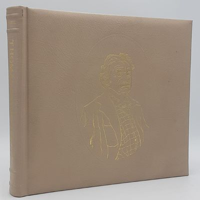 New York.: Harry N. Abrams., 1973. Limited edition, #120 of 350 copies.. Full padded ivory morocco, ...