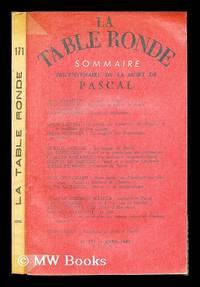 Tricentenaire de la mort de Pascal : sommaire