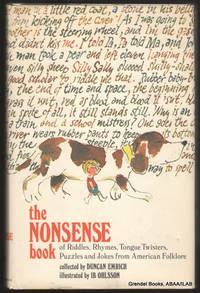 The Nonsense Book of Riddles, Rhymes, Tongue Twisters, Puzzles and  Jokes from American Folklore.