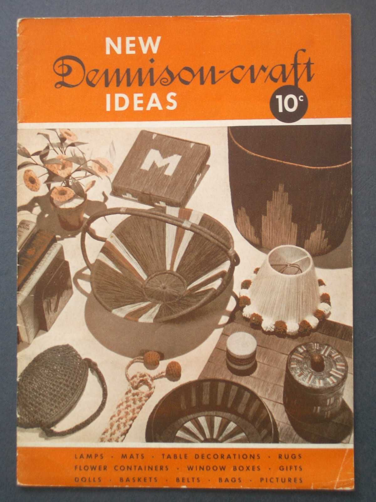 New Dennison Craft Ideas By Anonymous Paperback First Edition