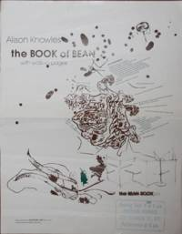 Alison Knowles the Book of Bean with walk-in pages; the Bean Book (Franklin Furnace Exhibition Announcement Poster)