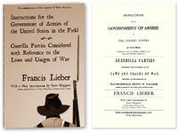 Instructions for the Government of Armies of the United States..
