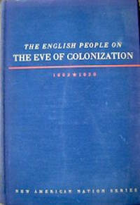 image of The English People on the Eve of Colonization, 1603-1630
