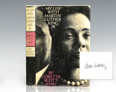 New York: Holt, Rinehart and Winston, 1969. First edition of Coretta Scott King's autobiography, whi...