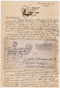 World War II letter from a foul-mouthed, misogynist who hated serving in the Marine Corps