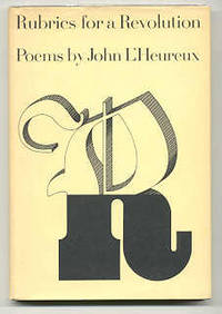 NY: Macmillan, 1967. First edition, first prnt. Signed by L'Heureux on the title page. Rear board cl...