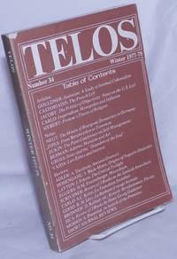 image of Telos No. 34, Winter, 1977-78